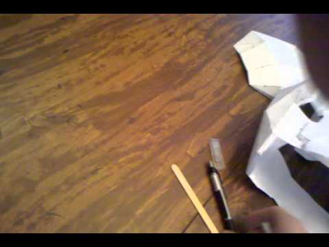 How to pepakura : halo armor part 1