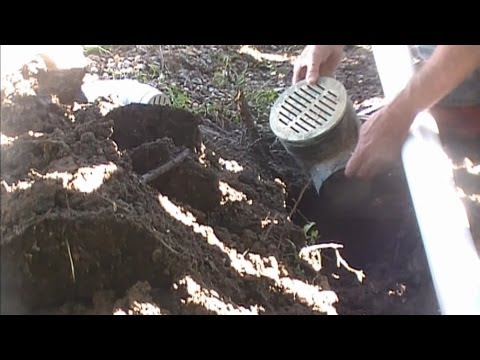 How To Drain Low Spot in Yard, Do It Yourself, for Homeowners. Better than French Drain.