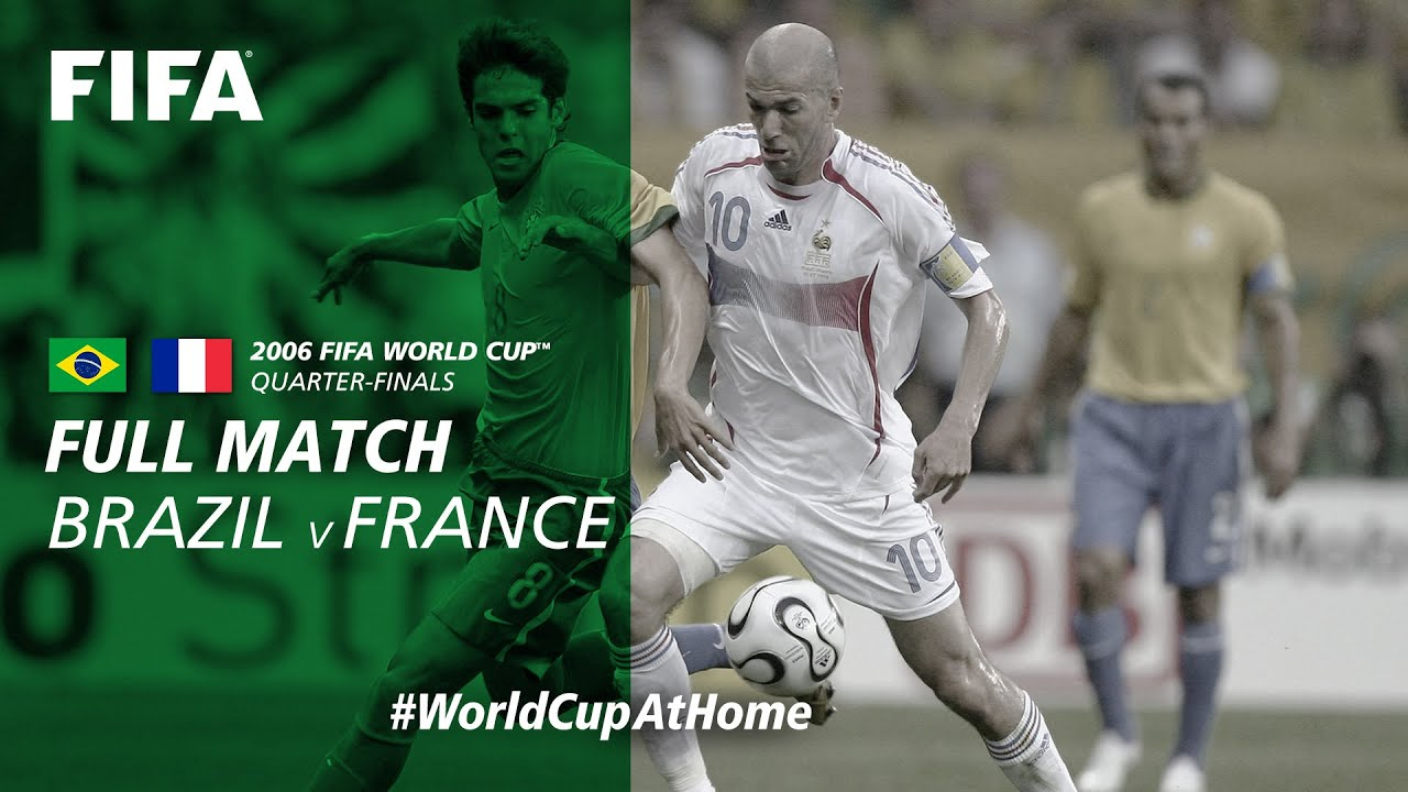 Brazil v France | 2006 FIFA World Cup | Full Match