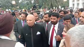 Govonor Punjab Ch Ghulam Sarwar open house welcome to Sikh Yatris