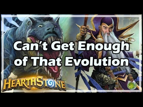 [Hearthstone] Can't Get Enough of That Evolution