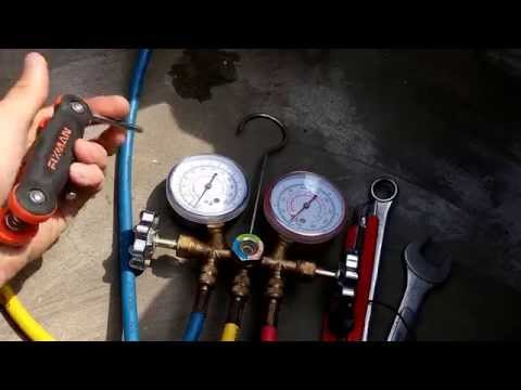 How to remove air conditioner (AC) part 1:outdoor unit