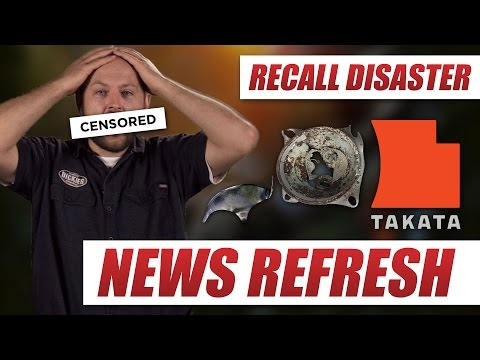 How to See If Your Vehicle is Recalled For Dangerous Takata Airbags