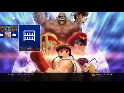 Street Fighter: 30th Anniversary Collection Pre-Order Theme Playstation 4