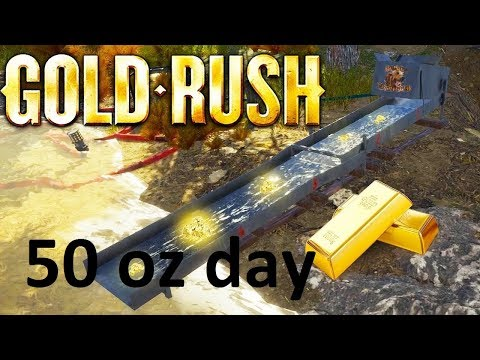 GOLD RUSH MINING.....AMAZING  day for gold over 50oz