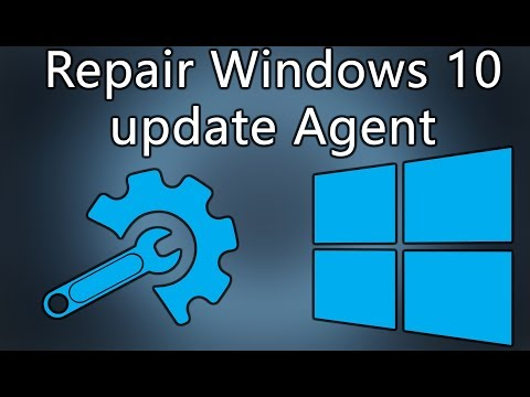 how to repair windows 10 update error Troubleshooting windows 10 update agent