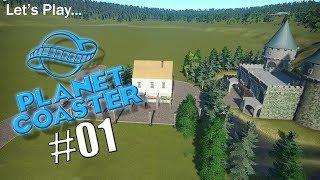 Planet Coaster - Episode 1 - Building The Entrance