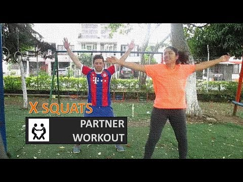 Best Bodyweight Exercises – X SQUATS Partener Workout