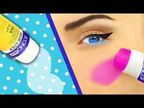 10 DIY School Supplies Makeup / Pranks For Back To School