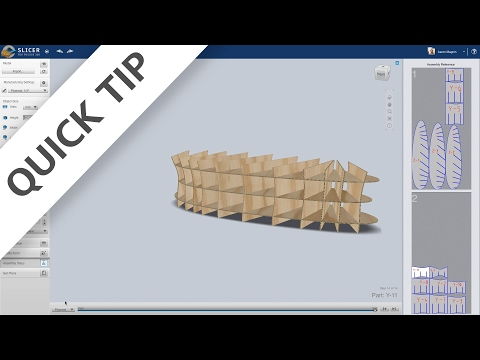 QUICK TIP:  Slicer for Fusion 360