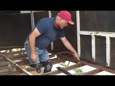 The  Horse Trailer Guru presents Preparing and Replacing Wood Trailer Floors