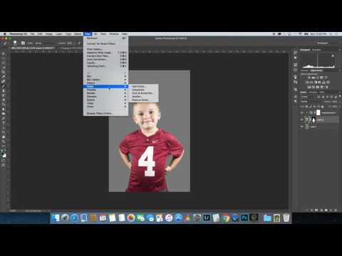 How to easily remove a green screen background in photoshop cc