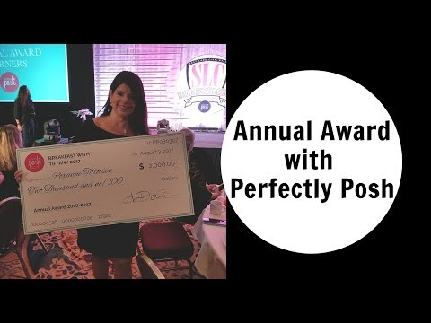 Annual Award ,Uncon 2018 and Leadership in Las Vegas with Perfectly Posh