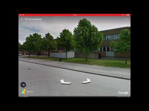 Google EARTH på iPad