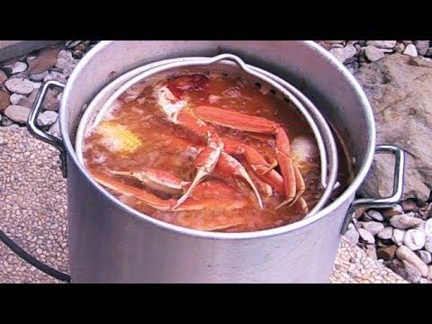 Cajun Seafood Boil | Snow Crab Legs & Shrimp