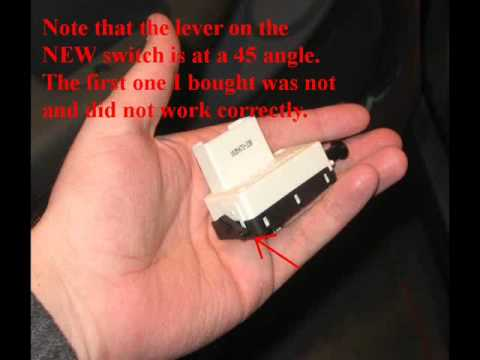 brake light switch replacement.