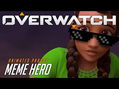 Overwatch Animated Short | Meme Hero
