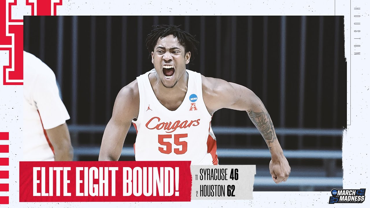 Houston vs. Syracuse - Sweet 16 NCAA tournament extended highlights