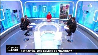 """Retraités : Une Colère De """"nantis"""" ? #cdanslair 15.03.2018"""