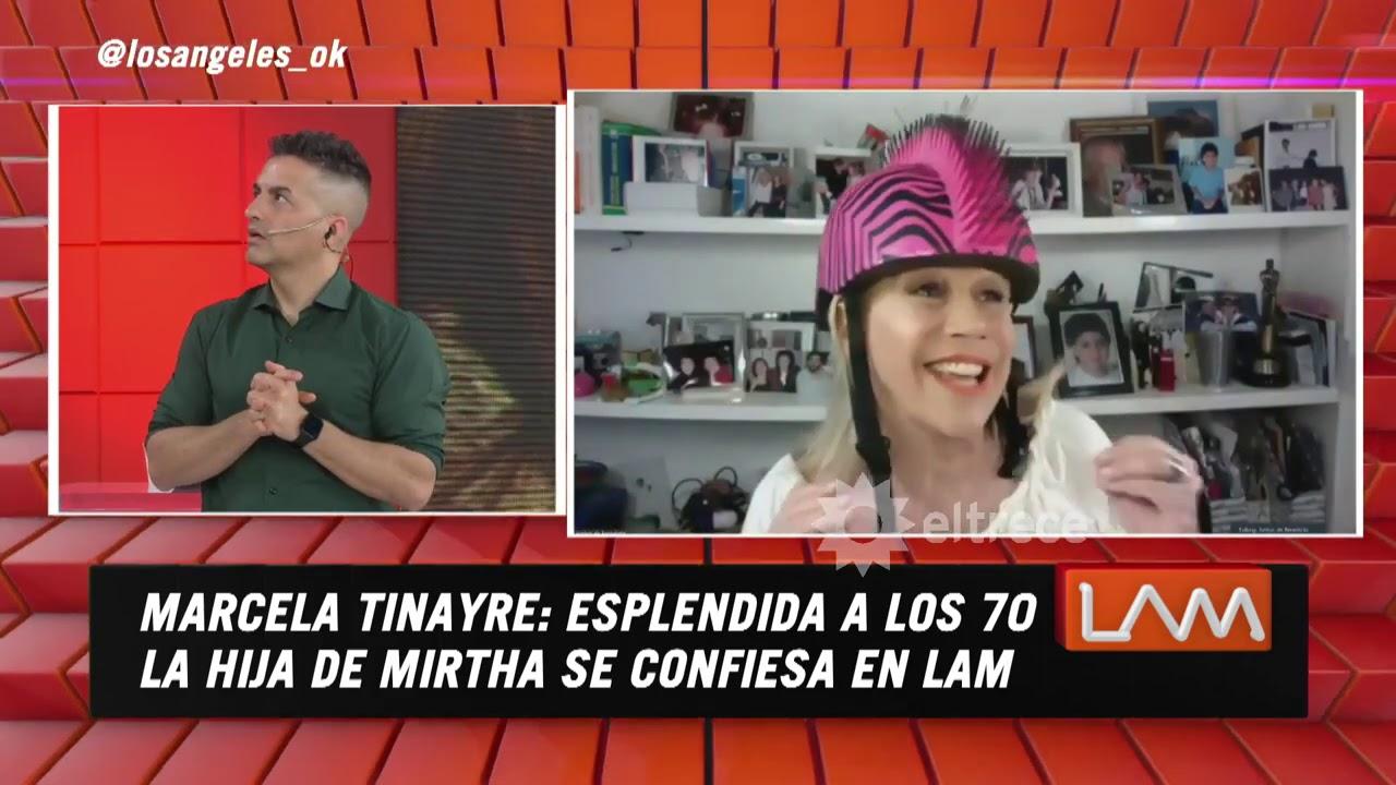 Marcela Tinayre esplendida a los 70, la hija de Mirtha Legrand se confesó en LAM
