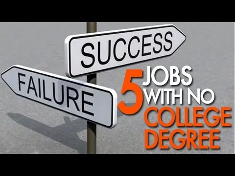 Top Jobs With No College Degree