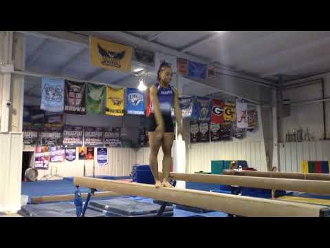 Pike jump on high beam