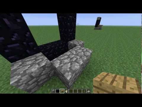 [Minecraft Tutorial] 01 - Nether Portal Without Flint and Steel - Still Working 1.12!