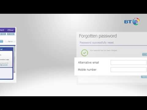 How to reset your BT ID password or username| BT