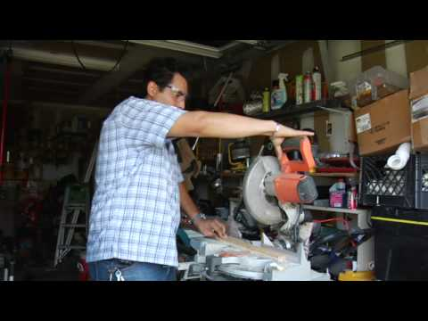 Home Repair & Maintenance Tips : How to Use a Miter Saw