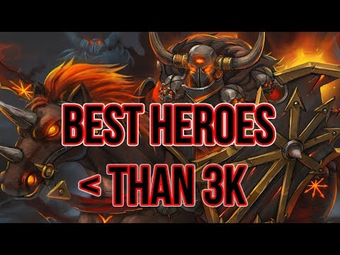 The best heroes to play right now if you are HERALD (patch 7.07c)