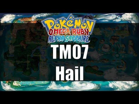 Pokemon Omega Ruby & Alpha Sapphire | Where to get TM07 Hail