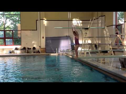 Teach a Flip for Springboard Diving