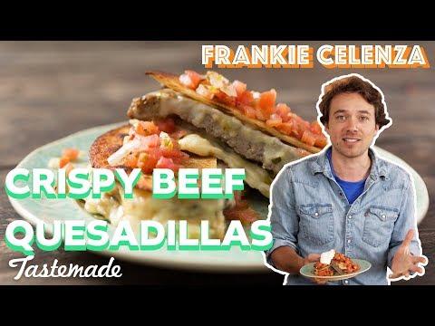 Crispy Beef Quesadillas I Frankie Celenza