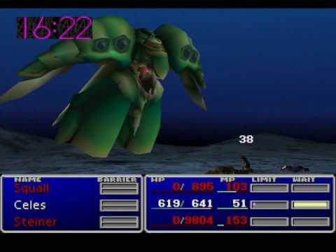 FFVII - Level 7 Tifa vs Emerald Weapon (No KotR)
