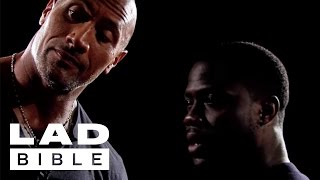 Kevin Hart and The Rock Play the Insult Memory Game