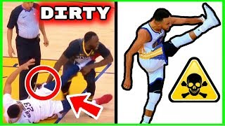 Why the Warriors are the DIRTIEST and MOST ROTTEN TEAM in NBA History! (STEPH CURRY KICKS)