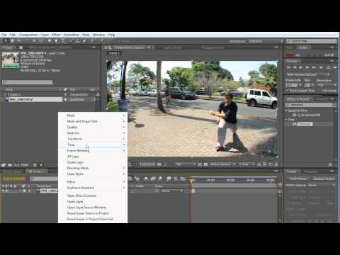 Tutorial: Super Slow Motion in After Effects CS5 / CS6