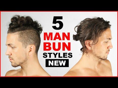 5 Cool Man Bun/Top Knot Styles - Men's Hairstyle Ideas