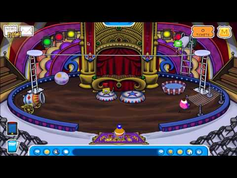 Club Penguin - The Great Puffle Circus 2011