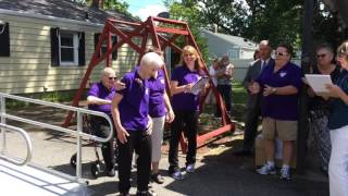 Ribbon cutting for Harmony House hospice home