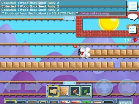 Growtopia - Making Wooden Platforms ! w/prololmnx !