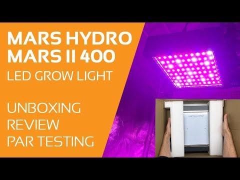 Mars II 400 LED Grow Light Review