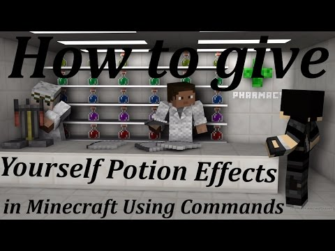 How to Give Yourself Potion Effects in Minecraft Using Commands