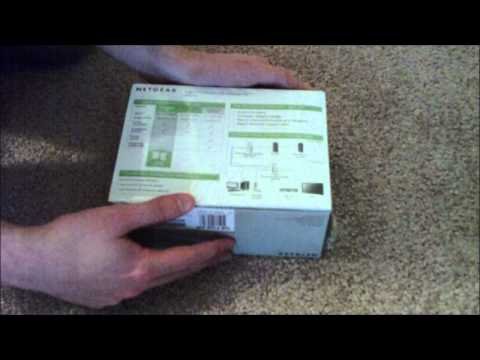 NETGEAR 4-port Powerline 85 Adapter Kit Unboxing