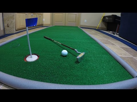 How to Make a Portable Golf Putting Green for Less Than $1 a square ft