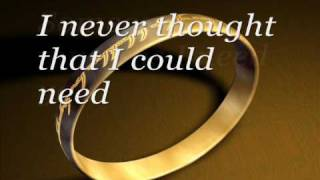 Never Thought That I Could Love-Dan Hill w/ Lyrics