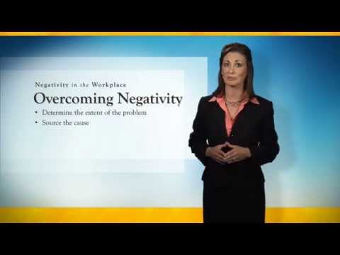 Course Promo: Negativity in the Workplace