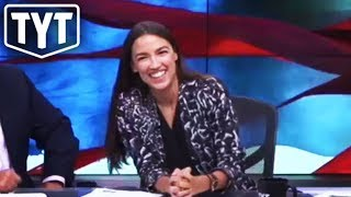 Alexandria Ocasio-Cortez on TYT; Trump Sweeps Poverty Report Under The Rug