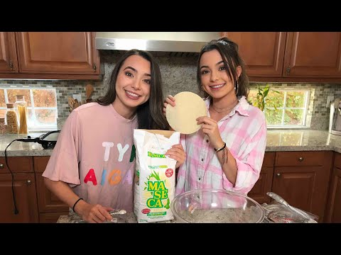 Making Tortillas - Merrell Twins Live