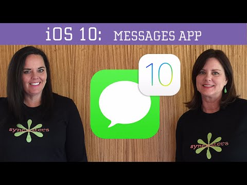 iOS 10 - Messages App